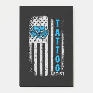 De Amerikaanse Vlag van de V.S. met de Kunstenaar Post-it® Notes