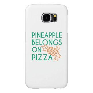 De ananas behoort op Pizza Samsung Galaxy S6 Hoesje
