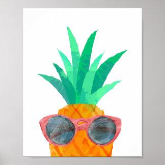 De Ananas van de partij Poster