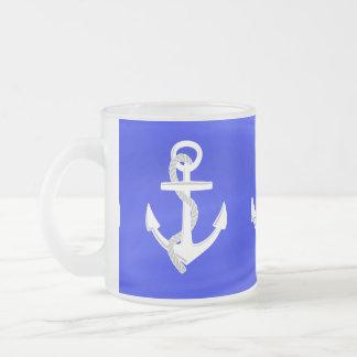 De Ankers van het schip Matglas Koffiemok