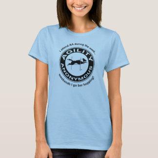 De Anonieme Zwarte van de behendigheid T Shirt