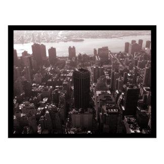 De Antenne van de Middelbare school van NYC Norman Briefkaart