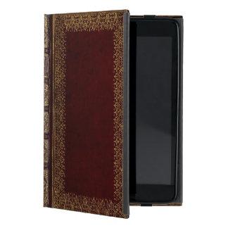 De antiek Bibliofiel van het Boek van het Leer iPad Mini Hoesje