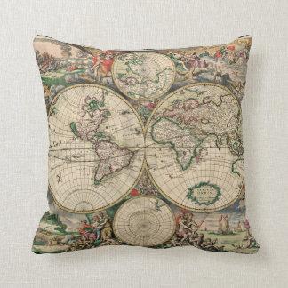 Kaart van de wereld kussens kaart van de wereld sierkussens online bestellen - Thuis kussens van de wereld ...