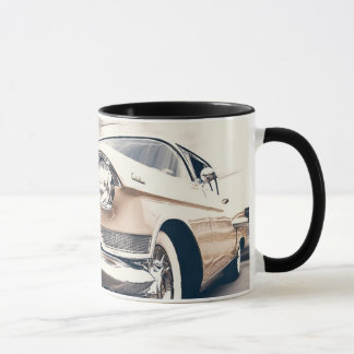 De antiek Klassieke Mok van de Koffie van de Auto