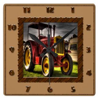 De antiek Klok van de Tractor