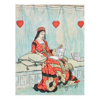 De antiek Koningin van Randolph Caldecott van de Briefkaart