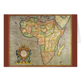 De antiek Oude Kaart van Mercator van de Wereld
