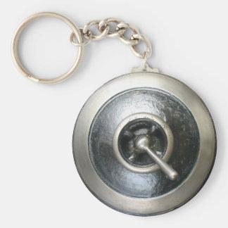 De antiek Schakelaar Keychain van de Motor van de Sleutelhanger