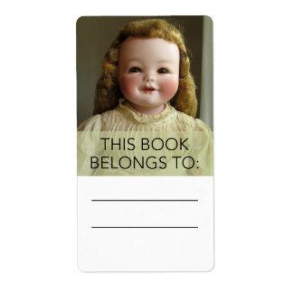 De antiek Sticker van Bookplate van Doll Orsini