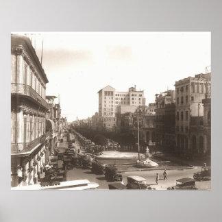 De Antigua van Foto van de jaren '20 van Gr Prado Poster