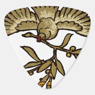 De Antiquiteit van de Duif van de vrede Gitaar Plectrum