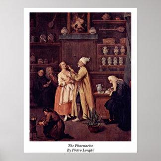 De apotheker door Pietro Longhi Poster