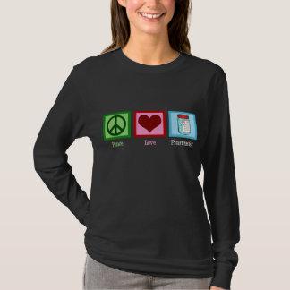 De Apotheker van de Liefde van de vrede T Shirt