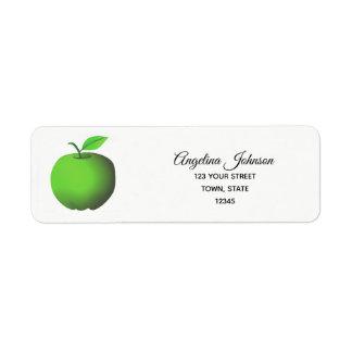 De appelgroene Natuur Eco van de Etiket