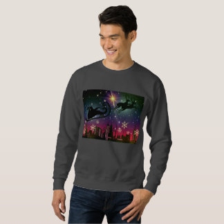 de ar mannen sweatshirt van de Kerstman