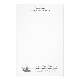 De Ar van de gepersonaliseerde Eenvoudige Witte Briefpapier