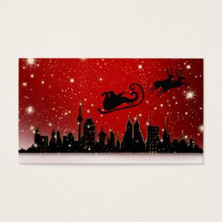 De Ar van de kerstman Visitekaartjes