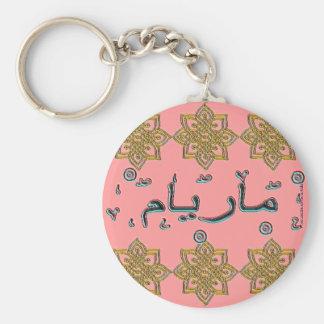 De Arabische namen van Miriam van Maryam Sleutelhanger