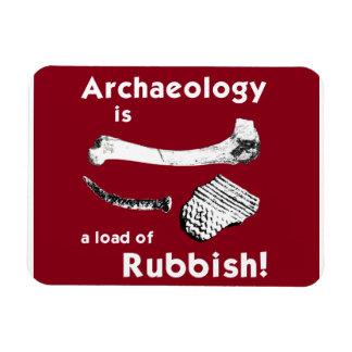 De archeologie is een lading van de Magneet van de