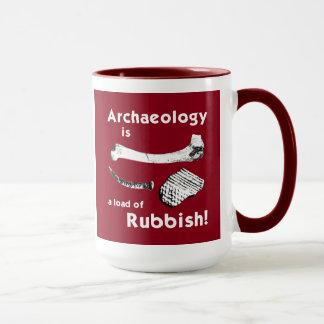 De archeologie is een lading van de Mok van het