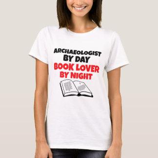 De Archeoloog van de Minnaar van het boek T Shirt