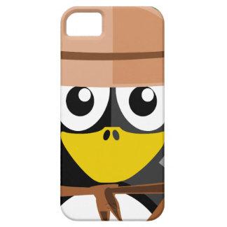 De Archeoloog van de pinguïn Barely There iPhone 5 Hoesje