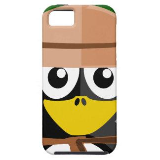 De Archeoloog van de pinguïn Tough iPhone 5 Hoesje