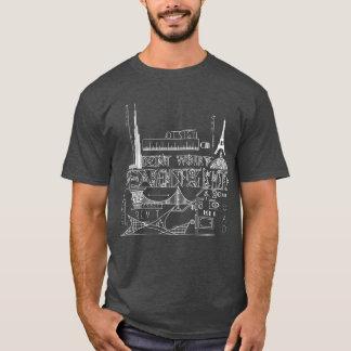 De architect is hier (Fu- Design) T Shirt