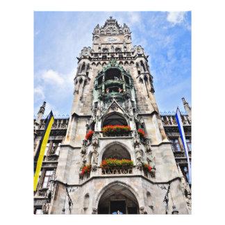 De architectuur van München Folders