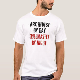 De Archivaris van Grillmaster T Shirt