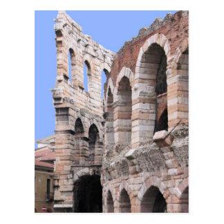 De Arena van Verona - het Briefkaart van Verona,