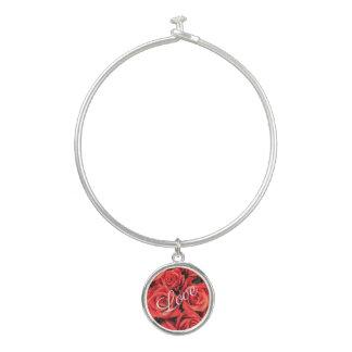 De Armband van de Armband van de Liefde van rozen Bangle Armbandje