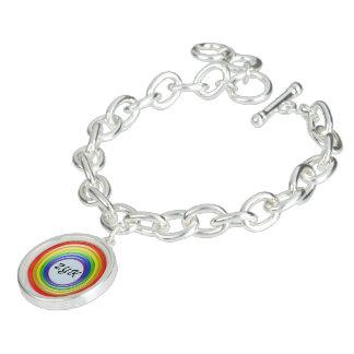 De Armband van de charme - de Ringen en Initals