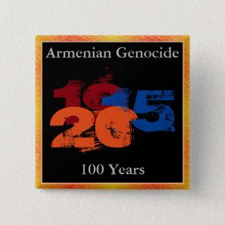 De Armeense Knoop van de Volkerenmoord Vierkante Button 5,1 Cm