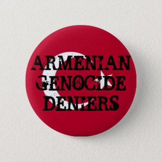De Armeense Knoop van Deniers van de Volkerenmoord Ronde Button 5,7 Cm