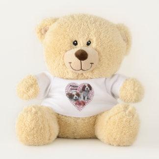 De arrogante Valentijnsdag van Charles Spaniel van Knuffelbeer