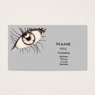 De arts van ogen visitekaartjes