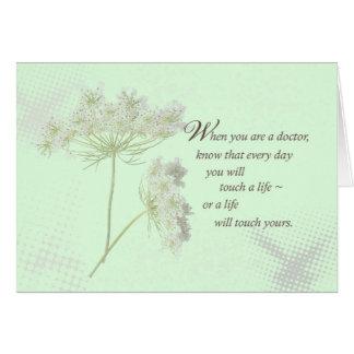 De artsen raken het Leven Wildflower Briefkaarten 0