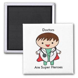 De artsen zijn Super Helden Magneet