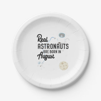 De astronauten zijn geboren in Augustus Ztw1w Papieren Bordje