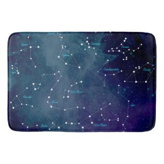 De Astronomie van de Constellaties van de Kaart Badmat