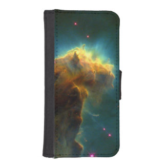 De Astronomie van Hubble van de Nevel van Eagle iPhone 5 Portefeuille Hoesjes