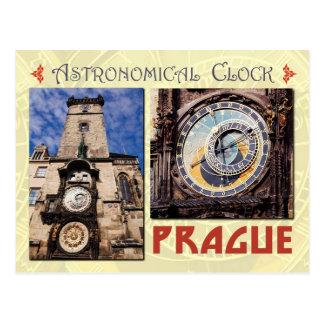 De astronomische Klok van Praag, Tsjechische Briefkaart