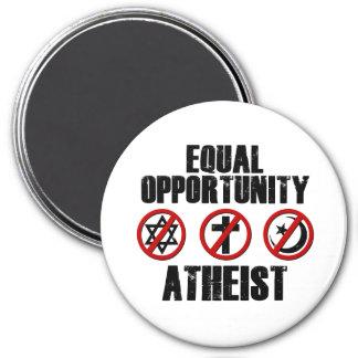De Atheïst van de Gelijke kans Magneet
