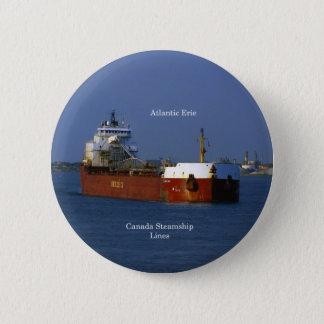 De Atlantische knoop van Erie Ronde Button 5,7 Cm