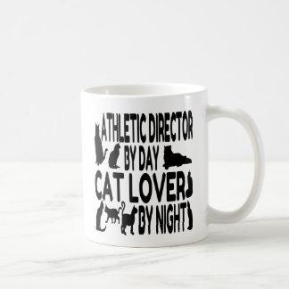 De Atletische Directeur van de Minnaar van de kat Koffiemok