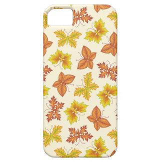 De atmosfeer van de herfst met vlinder-vormige barely there iPhone 5 hoesje