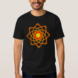 De atoom T-shirt van de Zon