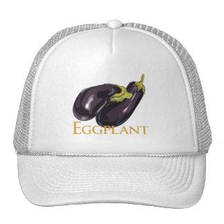 De Aubergine van de aubergine Trucker Petten